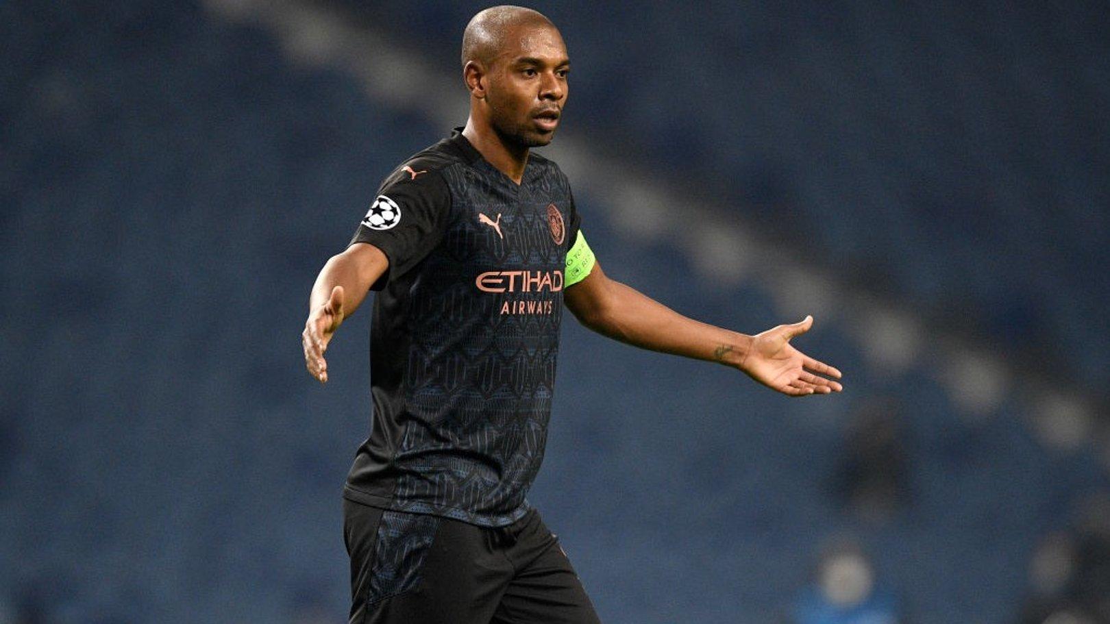 Fernandinho: I'm proud to captain City