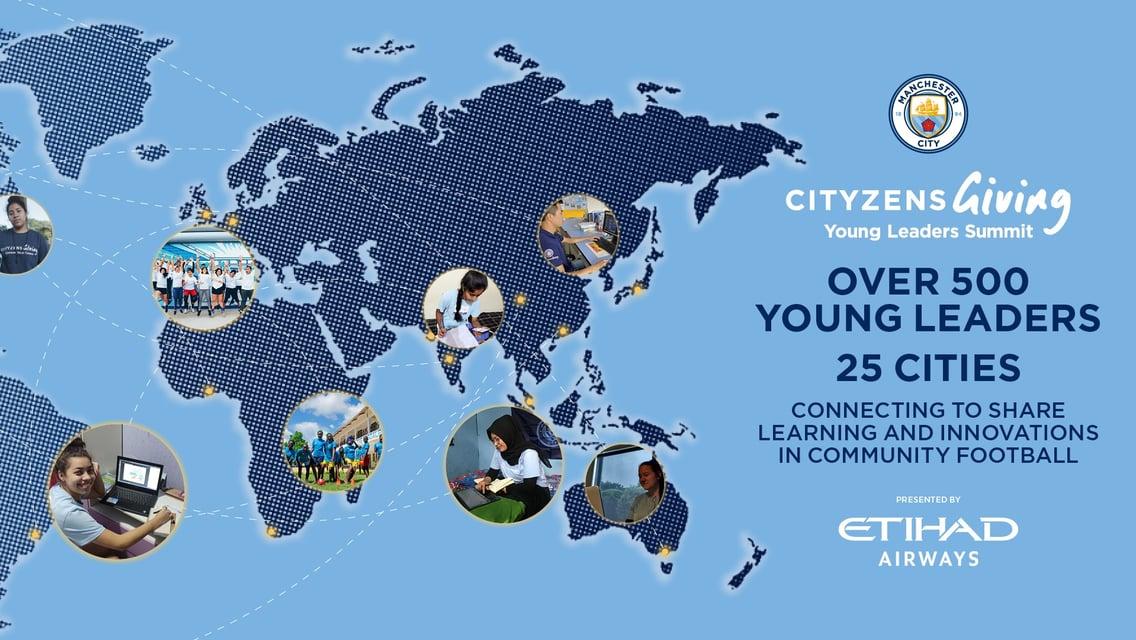 Cityzens Giving Young Leaders Summit retorna pelo sétimo ano
