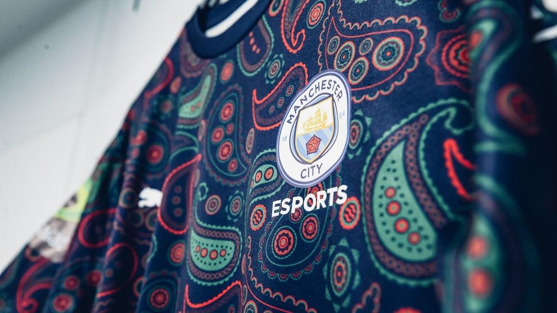 CITY와 PUMA의 esports 한정판 유니폼 자세히 들여다보기