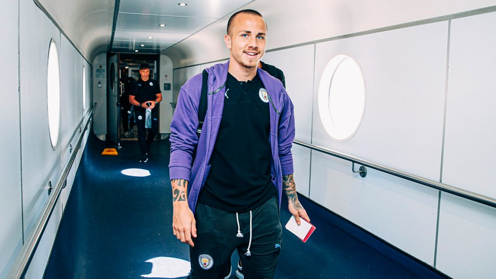 FAMILIAR FACE : Angelino is back at City and ready to hit Asia!