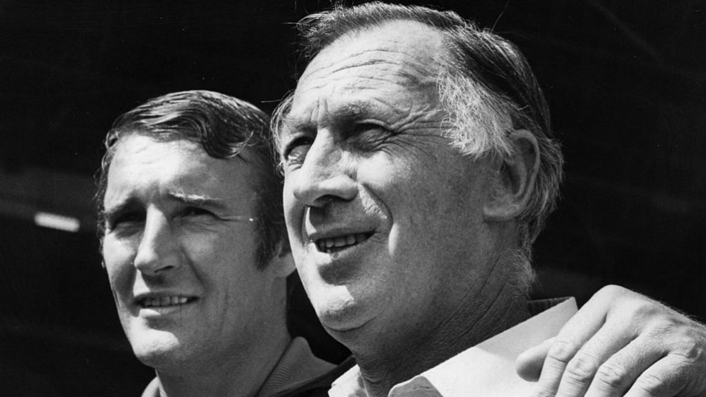DREAM TEAM: Malcolm Allison and Joe Mercer were a formidable partnership