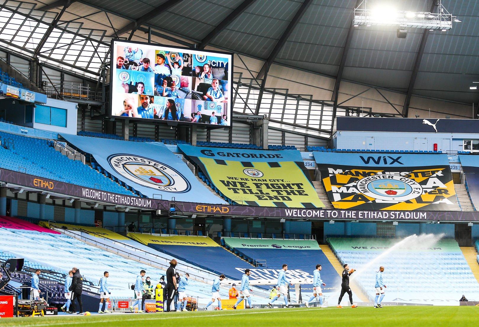 Etihad sponsor Junior Cityzen experiences for Manchester Derby!