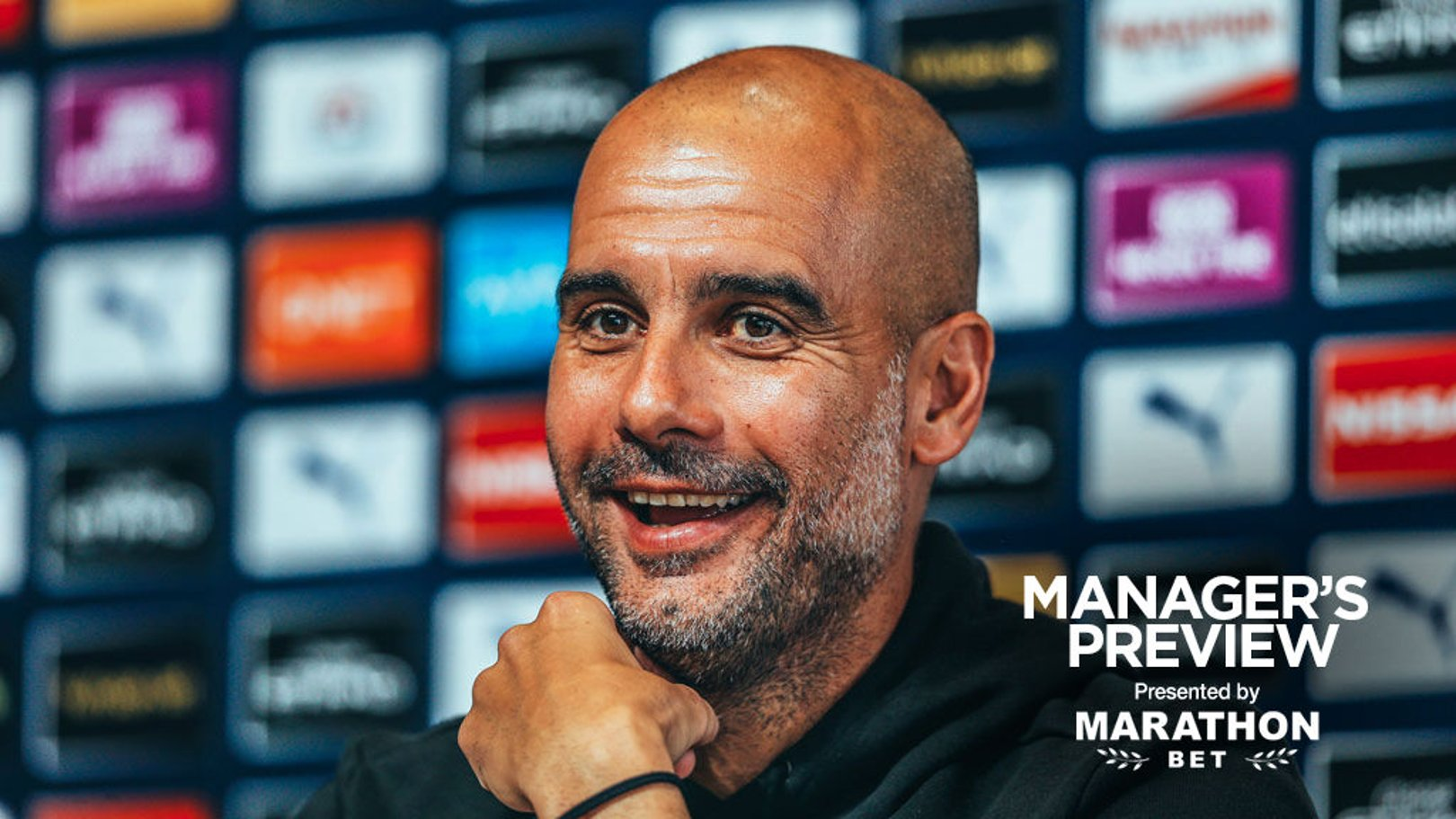 PEP TALK: The boss has given us an update ahead of Saturday's game