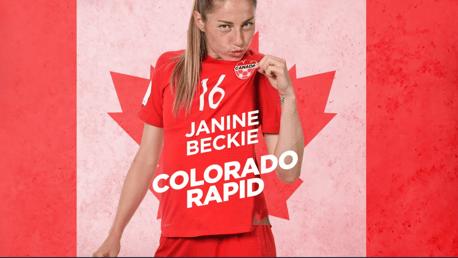 Janine Beckie: Colorado Rapid