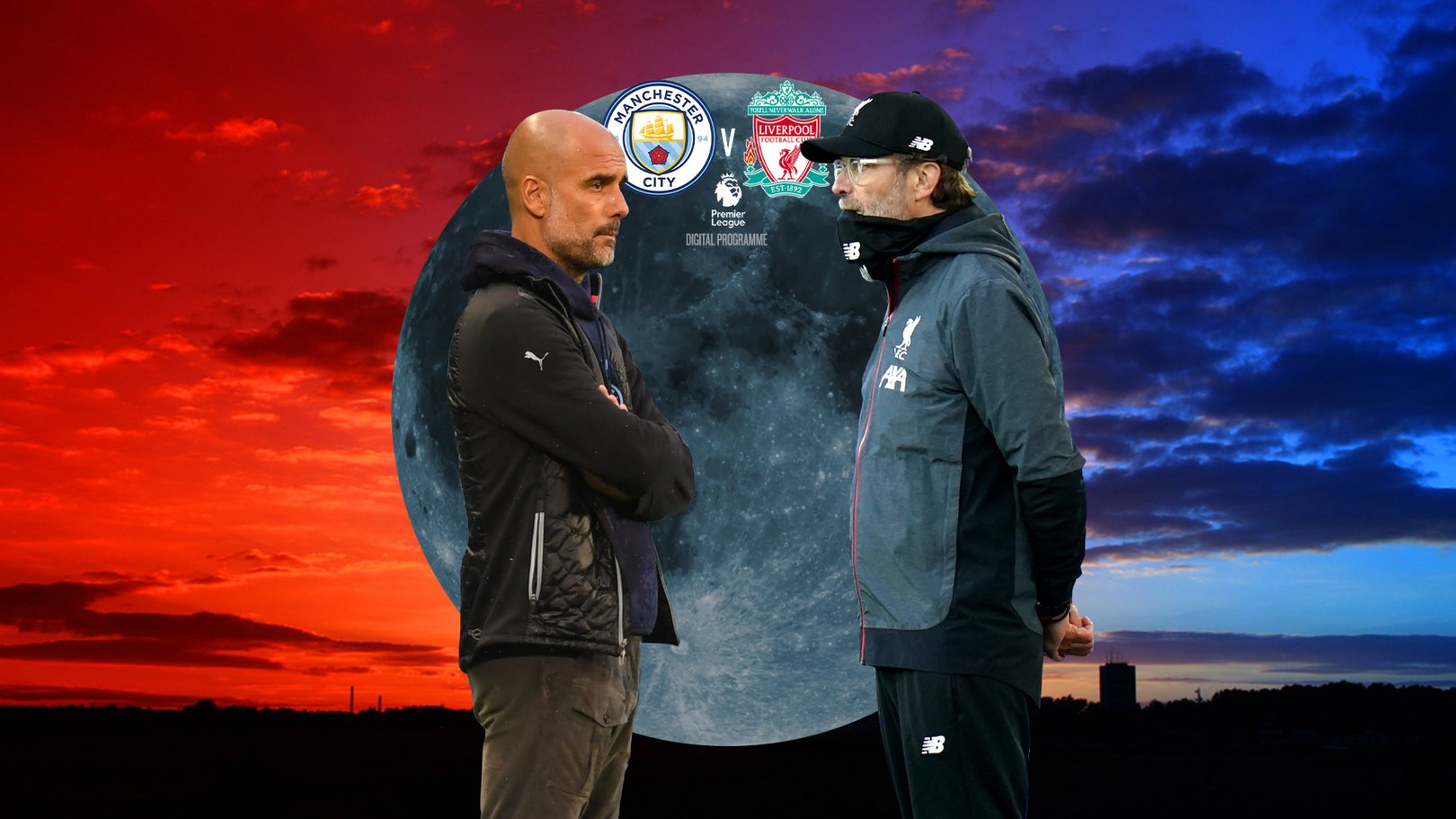 City v Liverpool Match Programme Cover