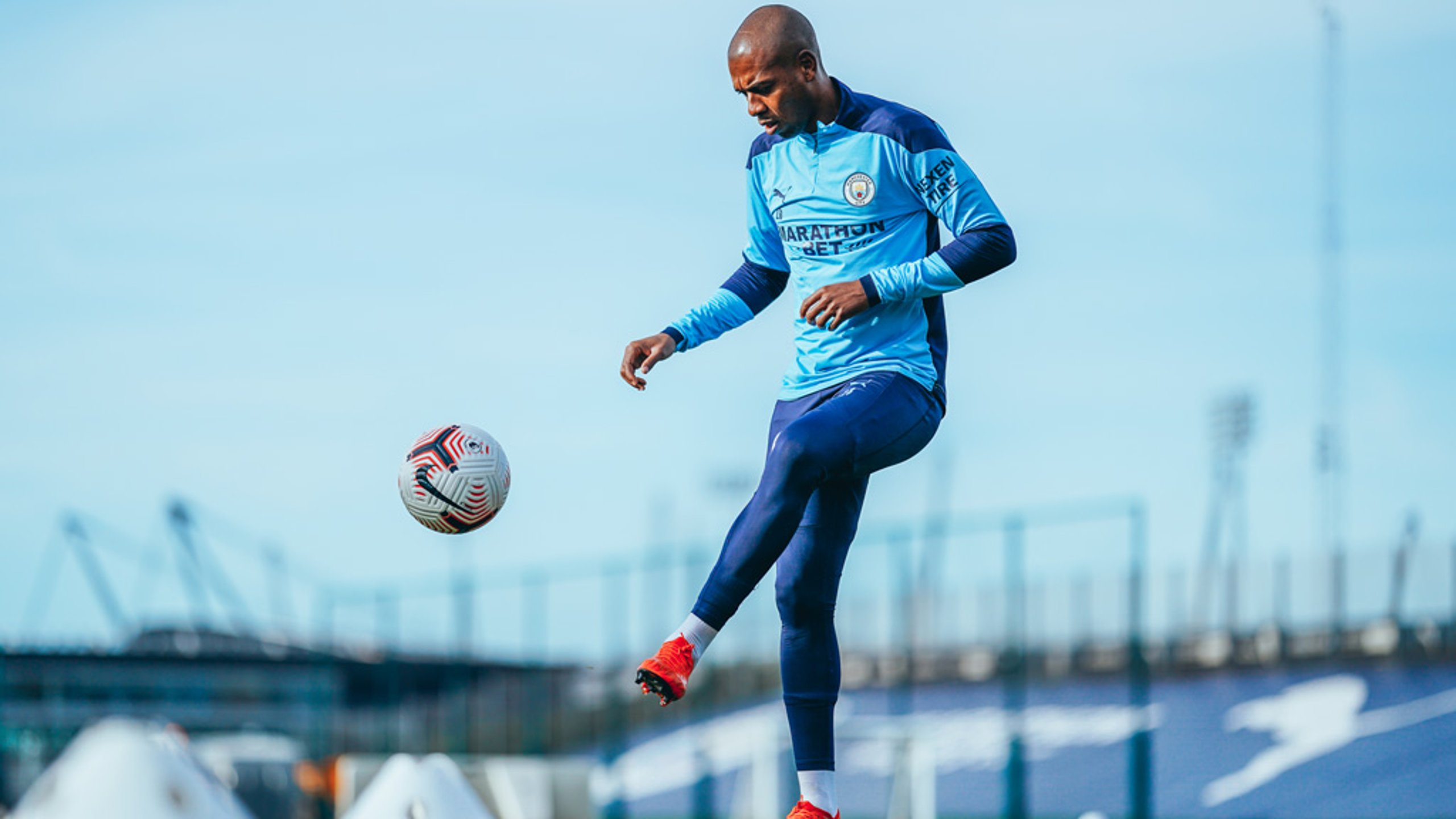 Fernandinho takes first steps towards return