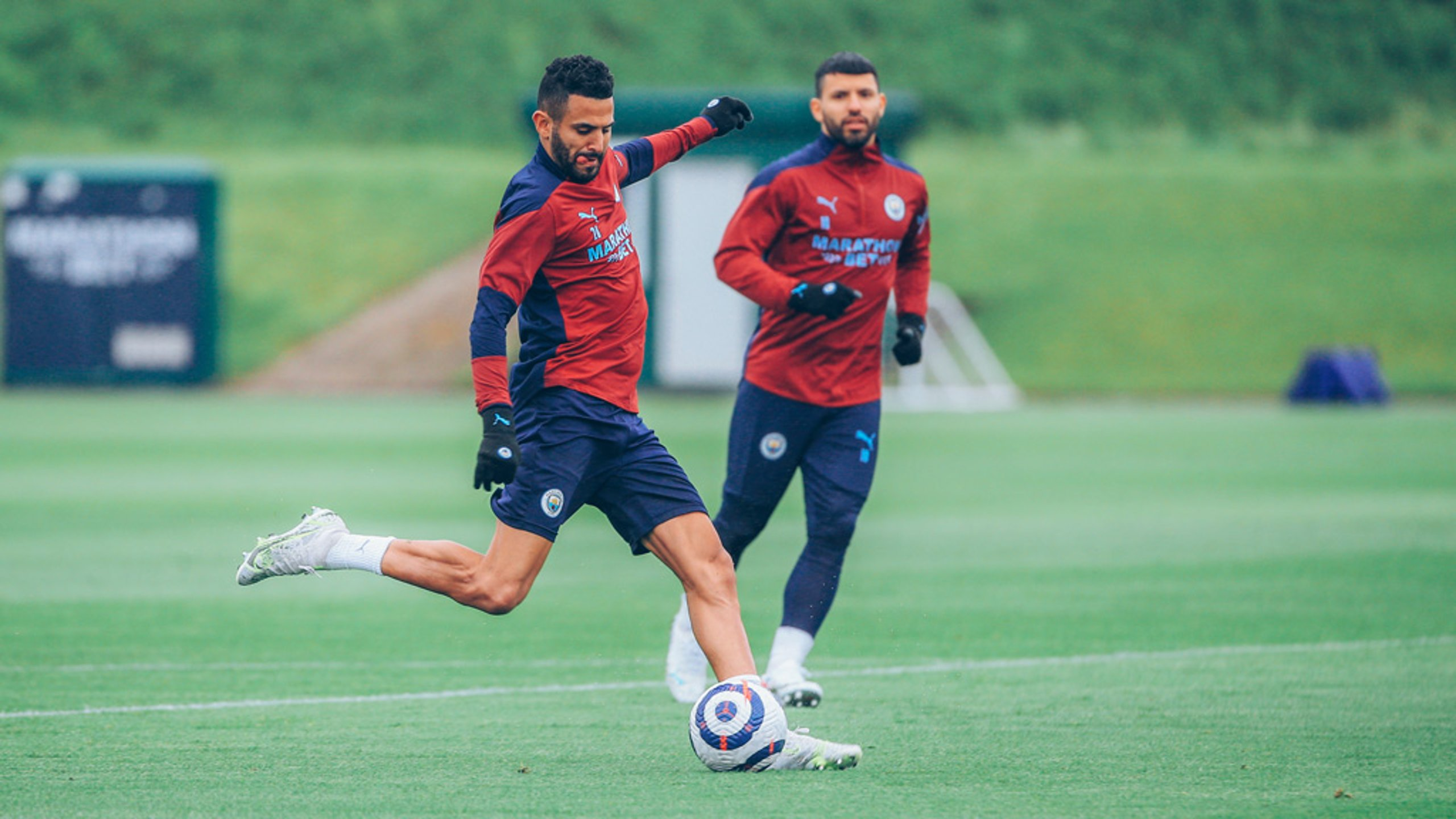 Gallery: Training for the Toffees