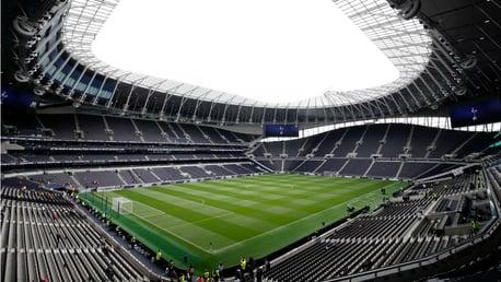 Tottenham v City: Sold out