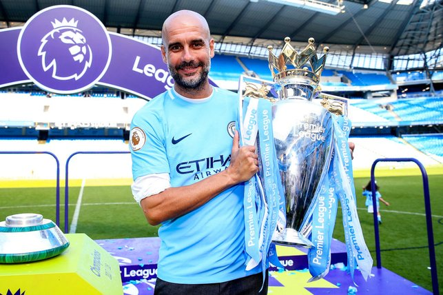 CENTURION  : Pep guides City to a record-breaking Premier League title win, becoming the first team in English football to record 100 points in a season