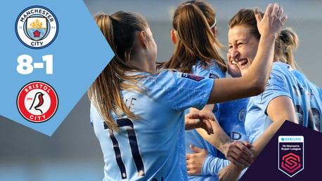 Full Match Replay: City 8-1 Bristol City