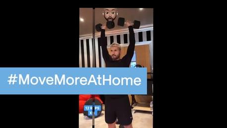 #MoveMoreAtHome with City and Rexona