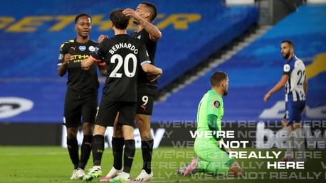 Brighton 0-5 City: resumen amplio