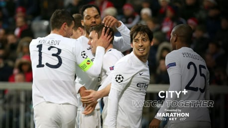 City+ Watch Together: Join us for a famous win at Bayern