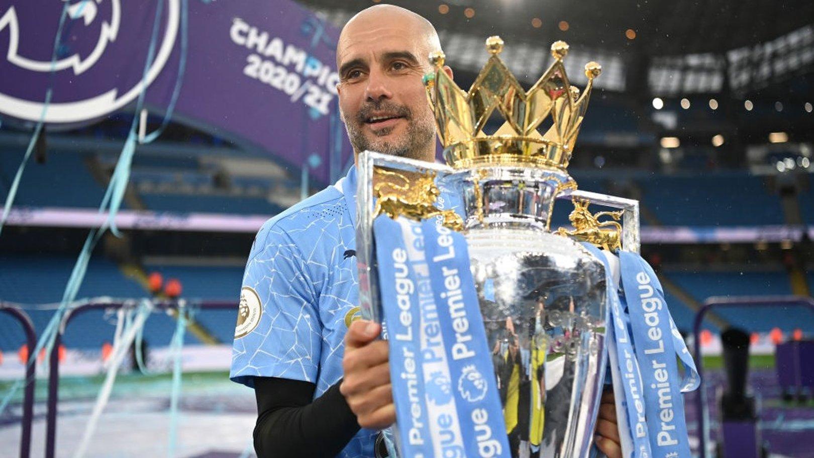 Pep Guardiola nominé pour le titre de Manager de la saison en Premier League