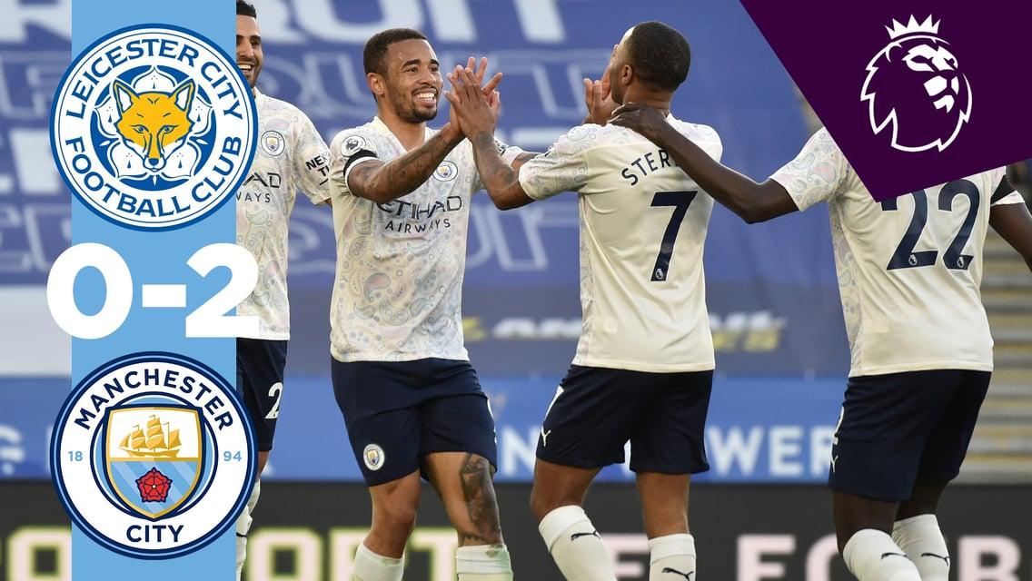 Leicester 0-2 City:  le match en bref...