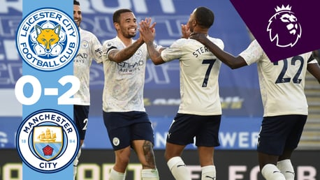 Leicester 0-2 City:  le match en bref...