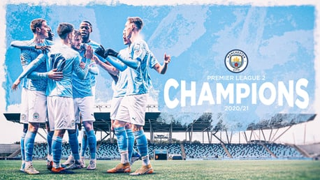 City's Elite Development Squad crowned PL2 champions