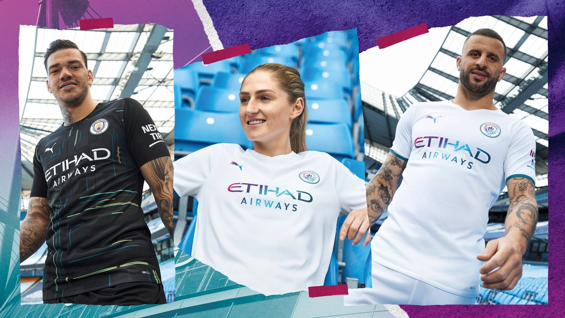 City and PUMA launch new water inspired away kit