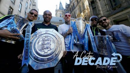 A CITY DECADE: A look back at our trophy haul over the past 10 years