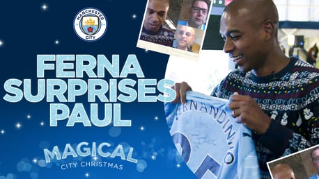 Magical City Christmas: Fernandinho surprises long-distance Blue Paul