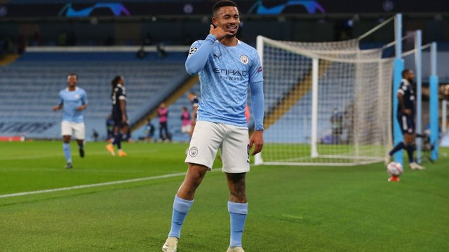 THAT SCORING FEELING: The goals are calling for Gabriel Jesus!