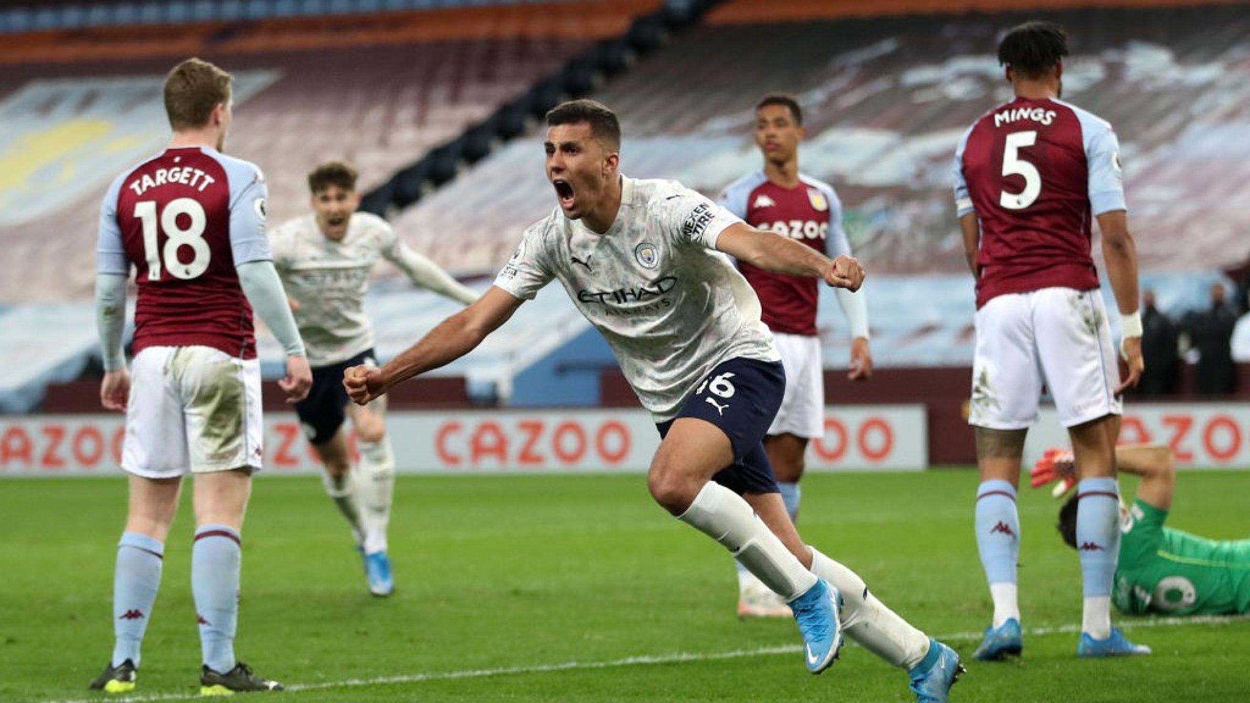 City l'emporte (à dix) contre Villa pour se rapprocher du titre