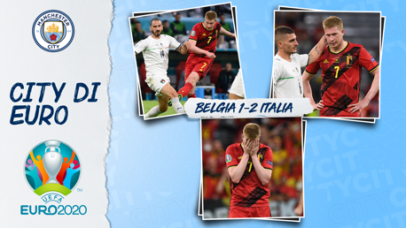 De Bruyne Harus Kecewa Setelah Italia Asuhan Mancini Berhasil Lolos