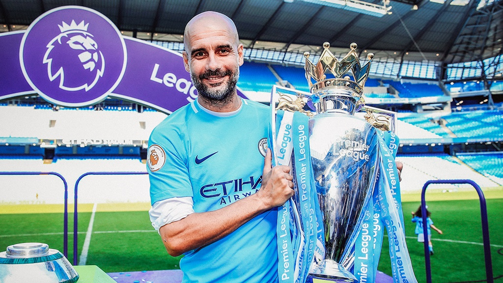 SILVER DREAM MACHINE: Pep has overseen a staggering period of success at City