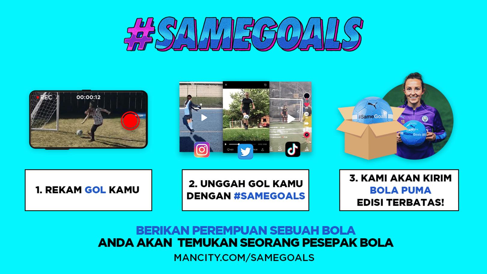 #SameGoals: Panggilan Terakhir!