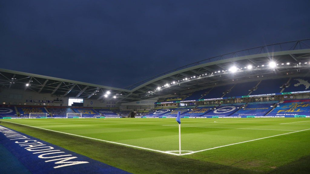 City's trip to Brighton altered for live TV coverage
