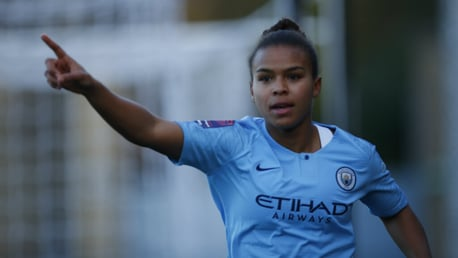 PARRIS LIFE: Nikita Parris is the FA WSL's all-time top goalscorer...