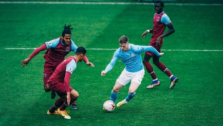 Palmer hat-trick helps rampant EDS defeat West Ham