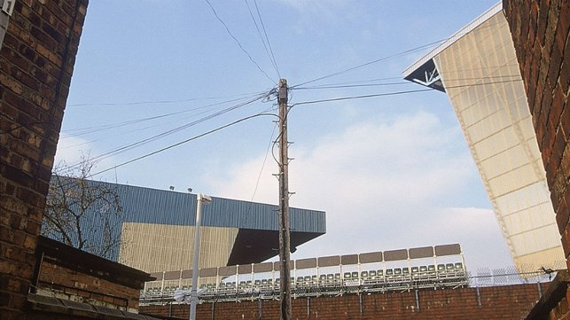 VIEWS : Maine Road in 2001.