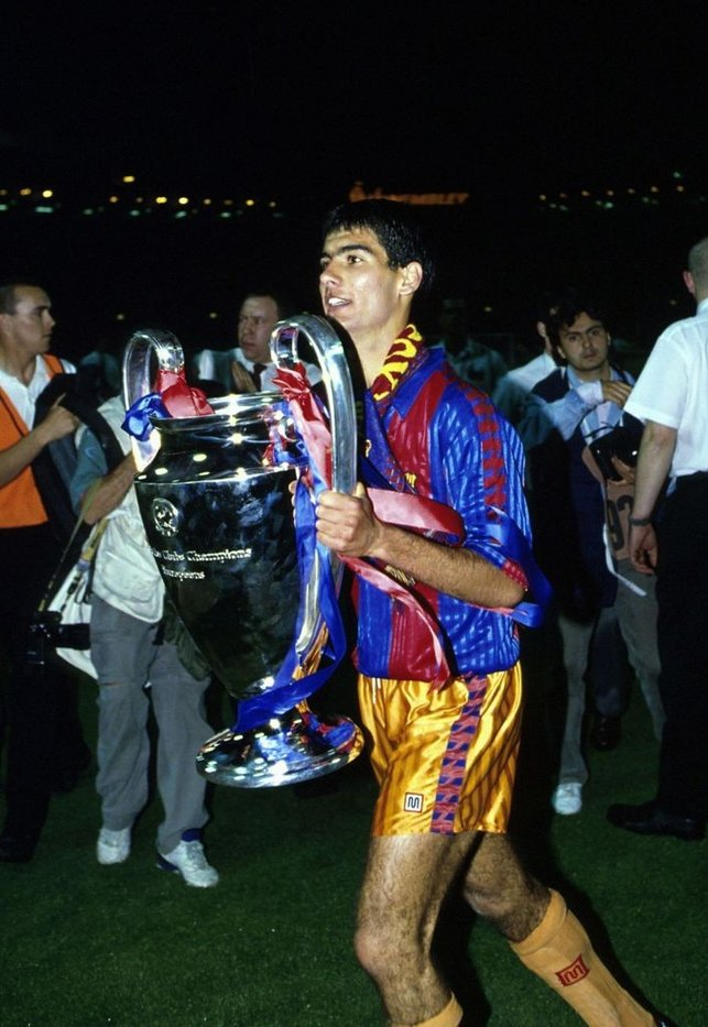 EUROPEAN CHAMPION : Pep picks up his first Champions League crown after Barcelona defeated Sampdoria 1-0