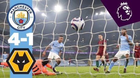 City 4-1 Wolves: resumen breve