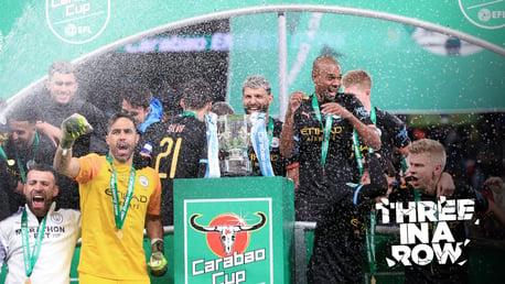 Zinchenko: Let's rename it the Claudio Bravo Cup!