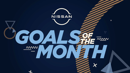 Walker wins October Nissan Goal of the Month award