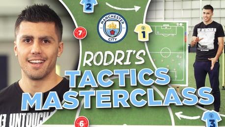 Masterclass táctica de Rodrigo