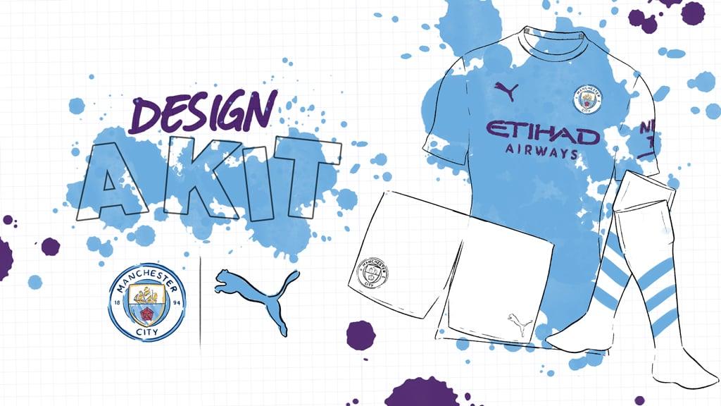 Desenhe seu próprio uniforme do City para ganhar prêmios da PUMA