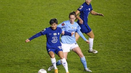City 2-4 Chelsea: Conti Cup highlights