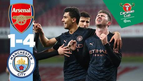 Le résumé: Arsenal 1-4 City