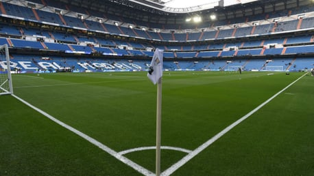 ICONIC VENUE: Real Madrid's Bernabeu Stadium