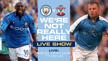 Goater and Morrison join forces for Southampton We're Not Really Here show