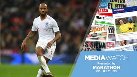 LIONS PRIDE: Fabian Delph was hailed for his key role in England's excellent 2-1 UEFA Nations League win over Croatia