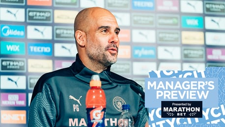 City v Burnley: Watch Pep Guardiola's press conference