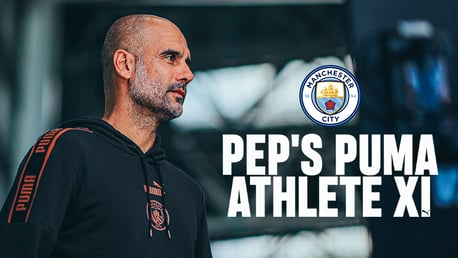 Guardiola's Ultimate PUMA Athlete XI
