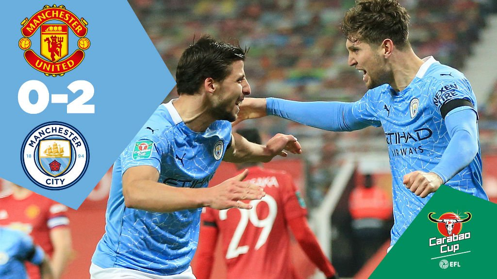 United 0-2 City: Full-match replay
