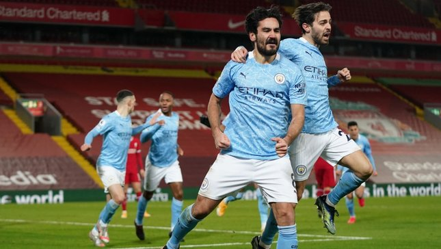 REDEEMED: Ilkay goes From zero to hero at Anfield.