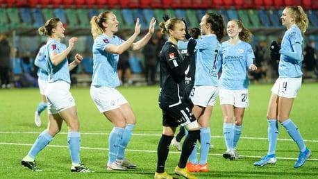 Full-match replay: Göteborg 1-2 City