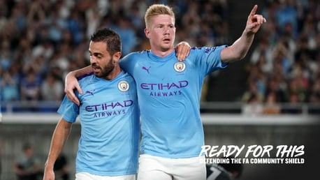 READY FOR THIS: City face Liverpool this weekend at Wembley in the Community Shield